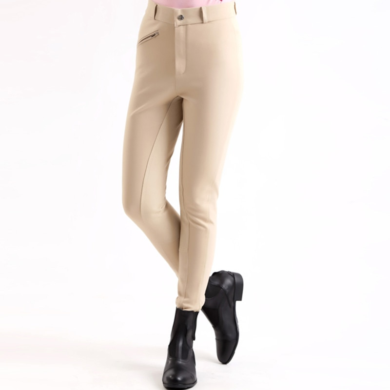 Horse Riding Pants Women Men Outdoor Sport Trousers Clothes Equestrian Breeches Horse Rider Pants Equipments Accessory Plus Size