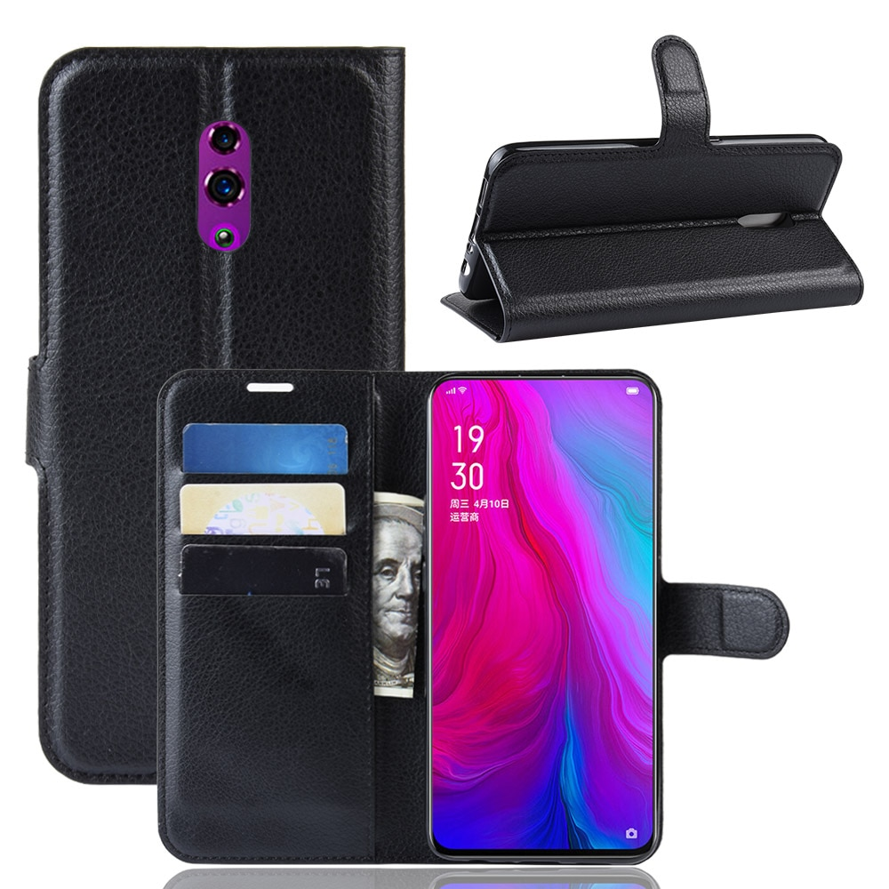 For OPPO Reno Case Flip Leather Phone Case For OPPO Reno High Quality PU Leather Stand Cover Filp Ca