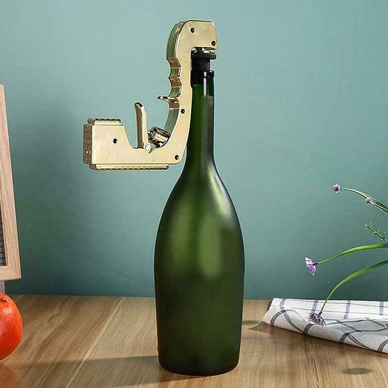 Champagne Wine Ejector Dispenser alloy Soda Beer Champagne Pistol Fountain Bottle Pourer Club Party champagne gun Beer spray gun