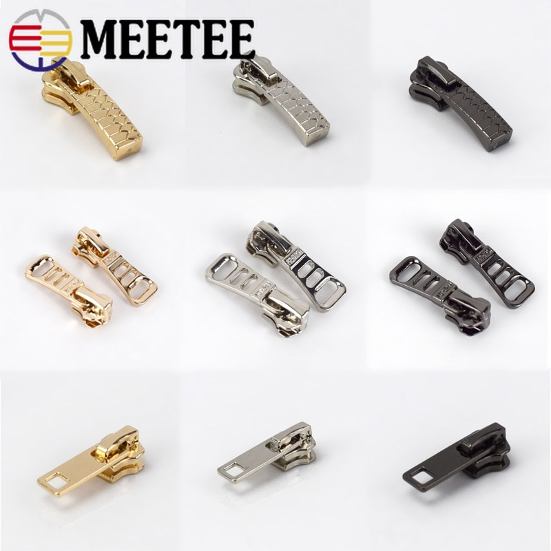 Металлический слайдер на молнии, 10 шт., 5 #, сменный комплект брюк для самостоятельного шитья