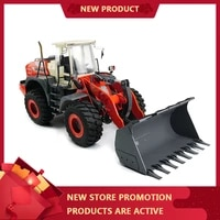115 hydraulic loader l574 wheel engineering forklift kit type new metal shell upgrade lesu factory outlet shop diy coloring