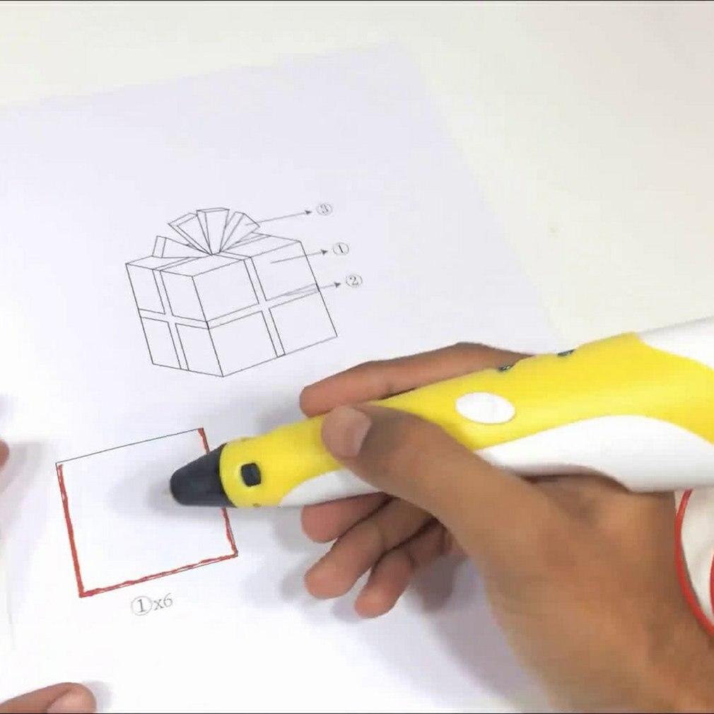 3D стереоскопическая ручка для рисования, большой экран для детского образования, хобби, игрушки, дизайн, рисунок