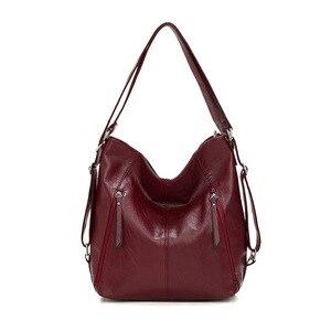Casual large capacity tote bags handbags women famous brands ladies office clutch bucket handbag solid zipper top handle bag big