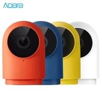 Aqara     camera de surveillance intelligente G2H Wifi HD 1080P  dispositif de securite domestique intelligent  avec Vision nocturne infrarouge  compatible avec lapplication Apple Siri HomeKit  Zigbee