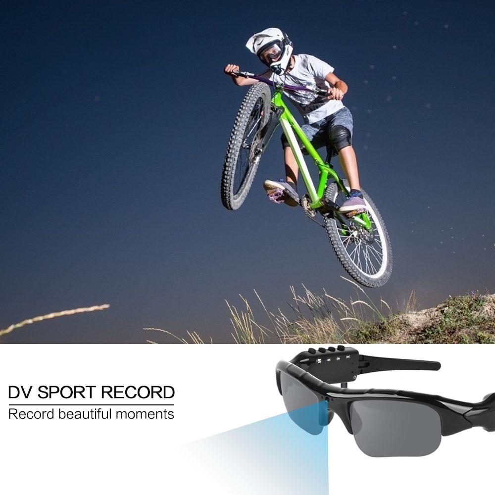 New Smart HD 1080P 32GB Polarized Lens Mini Sunglasses Camera Multifunctional Bluetooth MP3 Player Sports DV Video Recorder enlarge