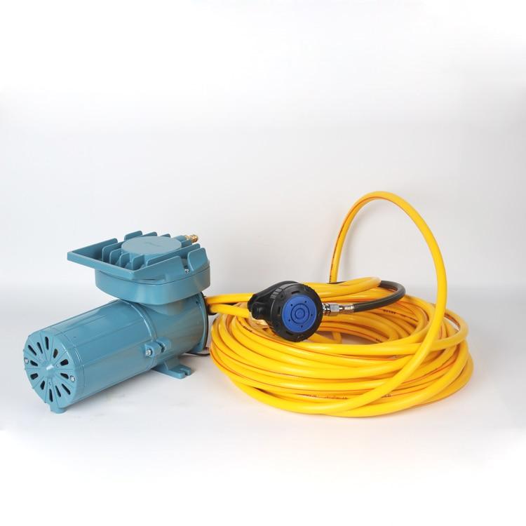 Compresor de aire para oxígeno portátil sin tanques, equipo de buceo para esnórquel, bomba de respiración subacuática para navegación limpia