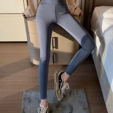 Leggings Women's Spring And Autumn Thin 2021 New Style Outer Wear Thin Hip Lifting Tight Elastic Yog