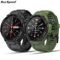 Новинка 2021, мужские спортивные Смарт-часы K22 для фитнеса, Bluetooth, вызов, Многофункциональный Будильник с музыкальным управлением, мужские Сма...