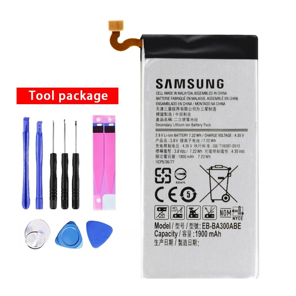 20pcs/lot Battery EB-BA300ABE For Samsung Galaxy A3 A300 SM-A300F SM-A300FU Original Bateria +Free Tools 1900mAh In Stock enlarge