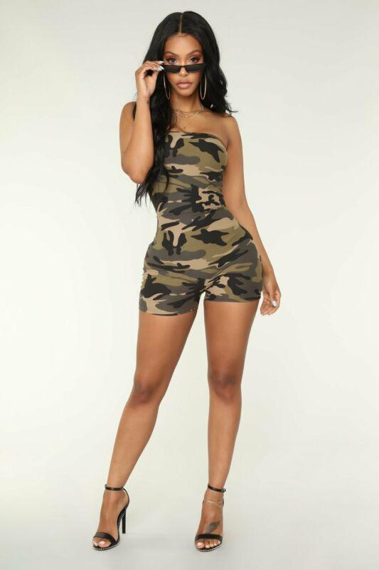 Women Bodysuit Summer Ladies Solid Short Trousers Romper Jumpsuit Leotard Sleeveless Bodysuit Solid S-XL