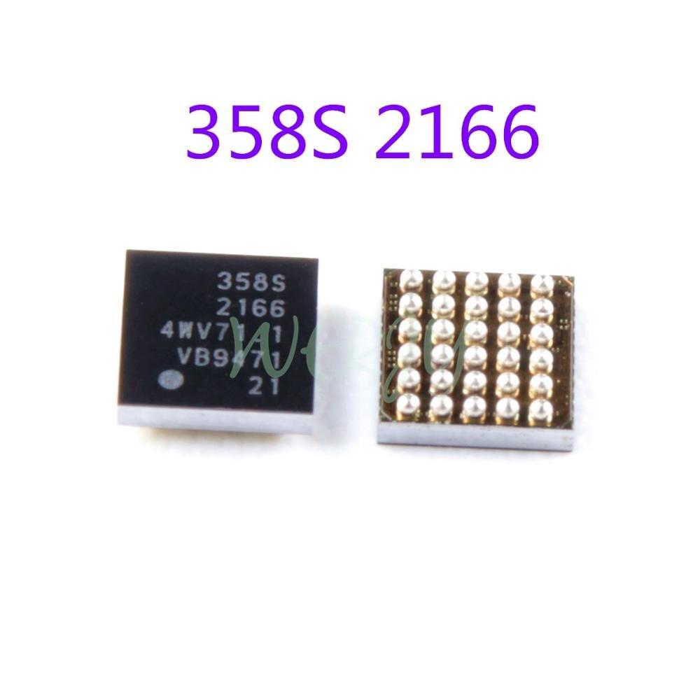 1 pces original novo 358s 2166 carregador ic 30pin
