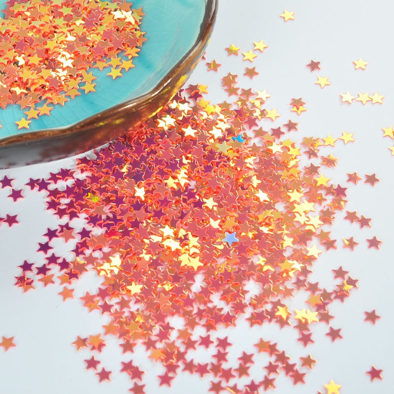 New Arrival 14 Pcs Pentagon Star Glitter Nail Polish DIY Accessories Nails Paillette Flakes Decoration Manicure Tools