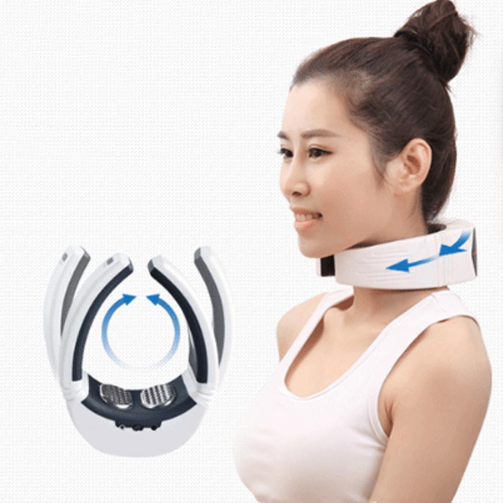 Masajeador de cuello de pulso eléctrico inteligente cuello Cervical hombro cintura pierna alivio del dolor relajación masaje Cervical inteligente cuidado de la salud