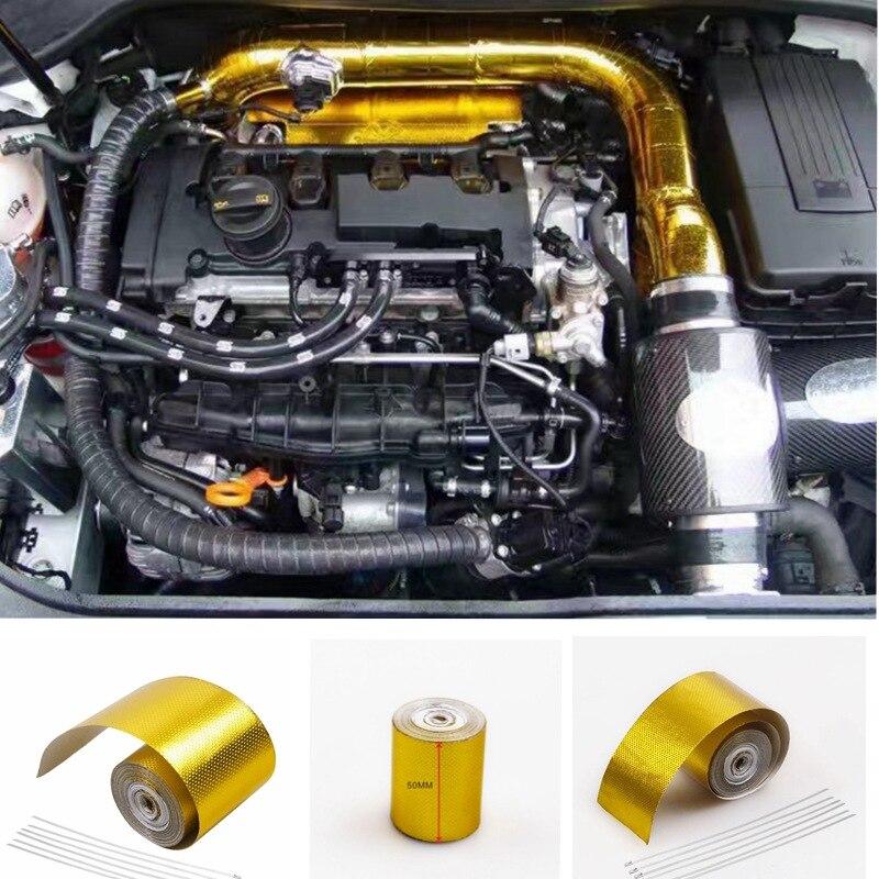 Cinta de aislamiento de alta temperatura de aluminio de aislamiento de tubo...