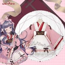 UWOWO 2019 New Anime Sakura Card Captor Fanart Ver. Tomoyu Daidouji Lolita Pig Doujin Cosplay Costume Girls Kawaii Dress