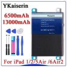 For iPad i pad Air / Air 2 Battery  For iPad 1/2/5/6 Air 2 A1566 A1567 A1484 A1474 1475 A1397 A1395 A1396  A1315  A1337 Battery