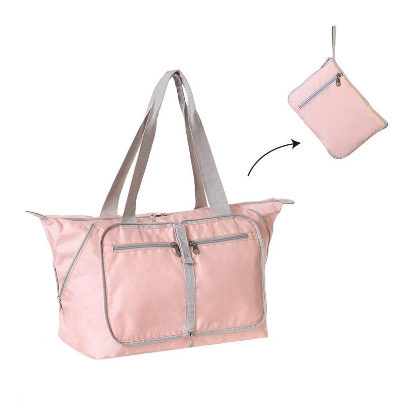 Новинка 2021, нейлоновые складные дорожные сумки унисекс, вместительная сумка для багажа, женские водонепроницаемые сумки, мужские дорожные ...