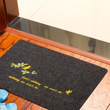 Embroidery Entrance Doormat Kitchen Mat Rug Bathroom Carpet Non-Slip Floor Mat Water Absorption Bath Mat Toilet Rug Tapete