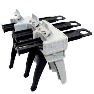 50ml 1:1/1:2/2:1 Mix Ratio Manual Epoxy Applicator Dual Component Adhesive Cartridge Applicator Caulk Gun 2 Part Caulking Gun