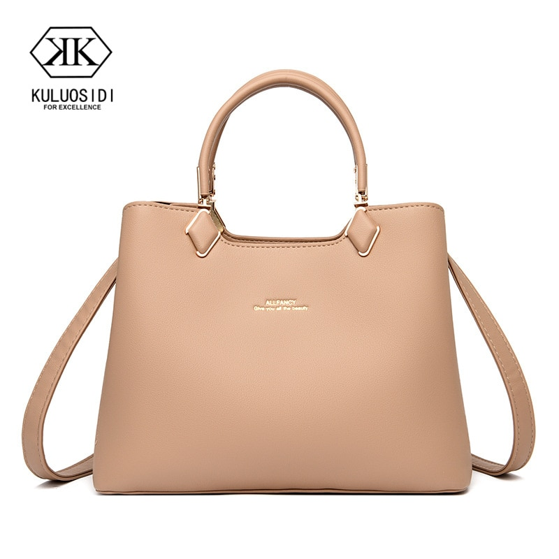 Роскошная женская сумка, сумка чистого цвета, сумка-тоут, простая женская сумка, цветная сумка на плечо, женская сумка 2021