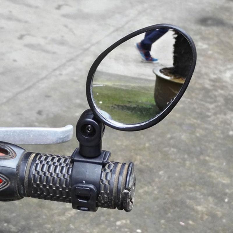 1 пара 360 градусов поворотные велосипедные зеркала заднего вида для руля широкоугольное зеркало заднего вида MTB дорожный горный велосипед а...