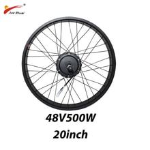 36V 250W 350W 500W avant moteur électrique roue disque/V frein Ebike Kit de Conversion moteur à engrenages sans brosse vtt vélo accessoires