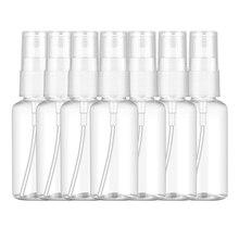 40 pièces 60 Ml atomiseur de parfum en plastique Transparent petite Mini bouteille rechargeable de pulvérisation vide
