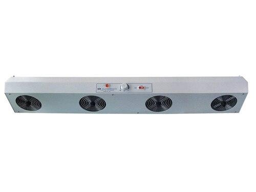 SL-1104 المؤين منفاخ الهواء الصناعية القضاء على المعدات أفقي نوع 4 مروحة ثابت مزيل المؤين مروحة 220 فولت أو 110 فولت