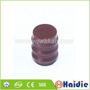 Free shipping 50pcs automotive plug blind rubber seal 7161-9787 dummy wire seals for auto connector