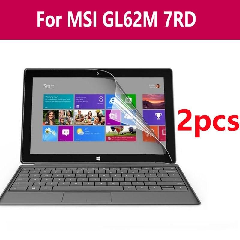 Protector de pantalla con recubrimiento Nano de Tpu transparente suave película protectora compatible con Microsoft Surface Book Laptop tableta película HD para Msi Gl62m 7rd