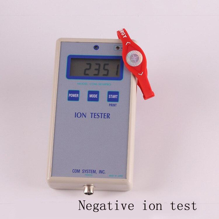 Pulsera de alta calidad de silicona holograma brazalete cuántico de terapia magnética de iones negativos brazalete de protección contra radiación