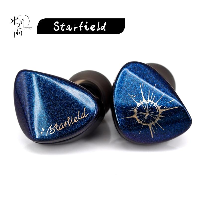 MoonDrop ستارفيلد الكربون النانوية الحجاب الحاجز سماعة ديناميكية مع كابل للانفصال