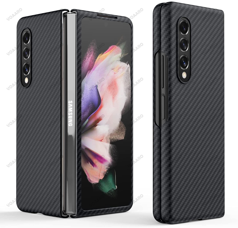 for-galaxy-z-fold-3-silm-aramid-fiber-case-for-samsung-galaxy-z-fold-3-5g-ultra-thin-matte-3d-pure-real-carbon-fiber-phone-case