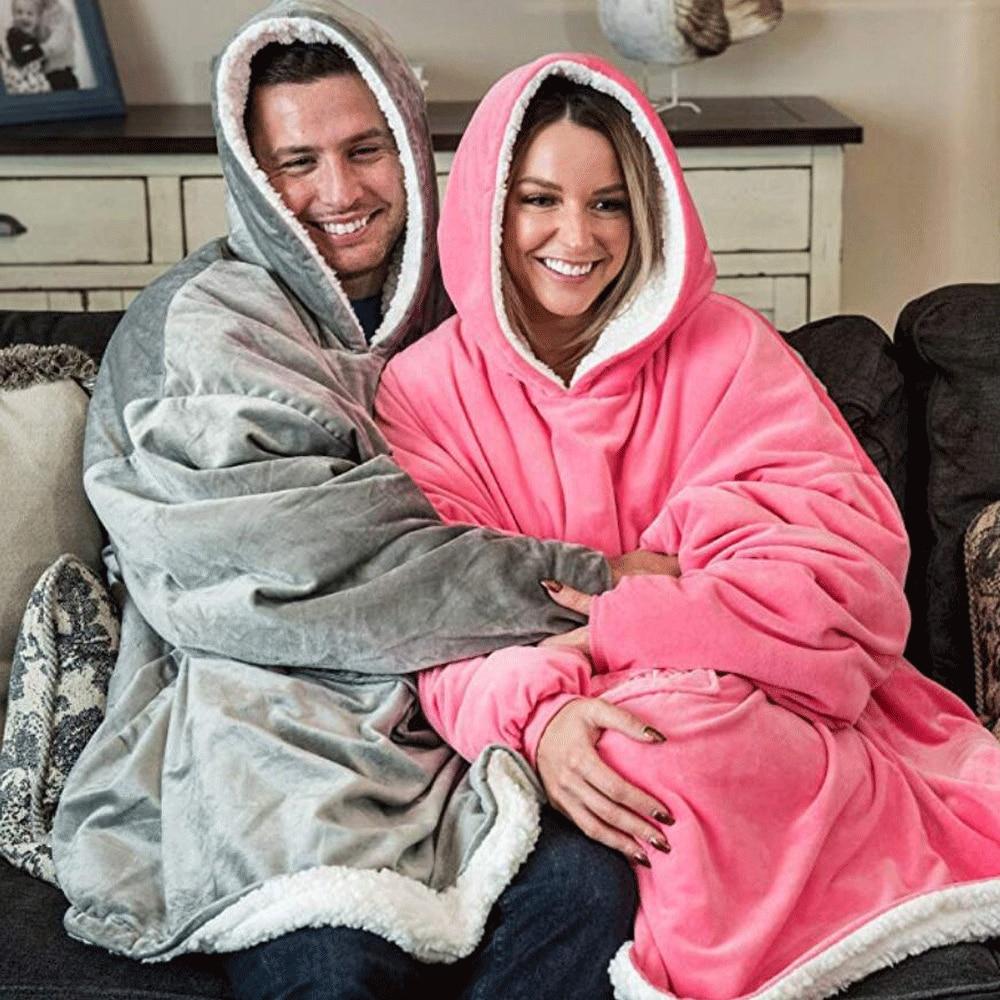Мужская толстовка с капюшоном, однотонная утепленная бархатная толстовка с капюшоном, Подарочный подарок для жены на зиму, 2021