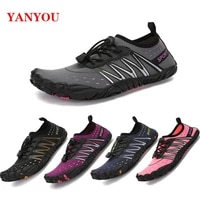 2021men women aqua shoes summer beach wading shoes swimming quick drying breath rubber reef non slip on surf unisex water shoes