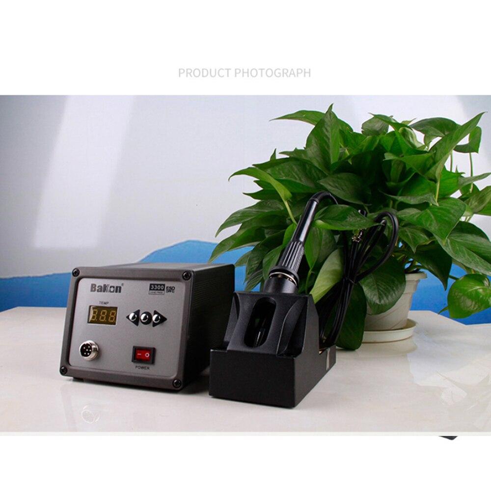 BK3200 محطة لحام رقمية 120 واط عالية التردد الرصاص الحرة مكافحة ساكنة محطة إعادة العمل