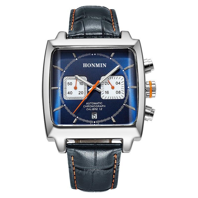 جديد HONMIN 2301 أصيلة موضة ساحة الساخن بيع نفس النوع من ساعة فاخرة ساعة الأعمال مع صندوق هدية