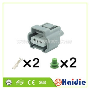 Free shipping 5sets 2pin Toyota transmission plug Back-up lamp plug waterproof electrical connector 6189-0199