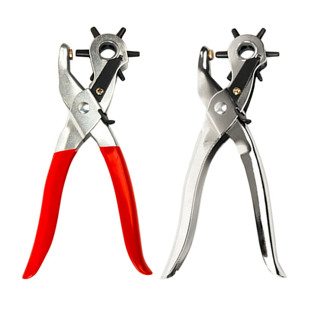 2017 250g profesional Ultra duro cinturón de cuero perforador de agujeros máquina herramienta perforadora seis tamaños agujero 2/2. 5/3/3,5/4/4,5mm