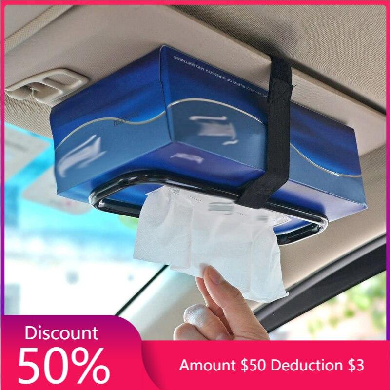 Автомобильный солнцезащитный козырек, сумка для крепления рамы, бумажный Держатель для полотенца на спинку автомобильного кресла, автомоб...