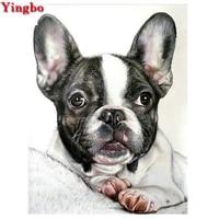 diy diamond painting french bulldog rhinestones pictures diamond mosaic full display home decor diamond embroidery sale