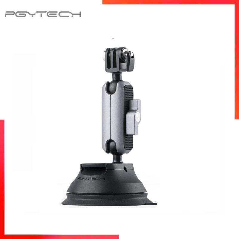 PGYTECH عمل كاميرا شفط كأس ل أوزمو عمل Gopro 10 سيارة مص القرص الزجاج Gimbal Gopro بطل 9 Insta360 واحد X2