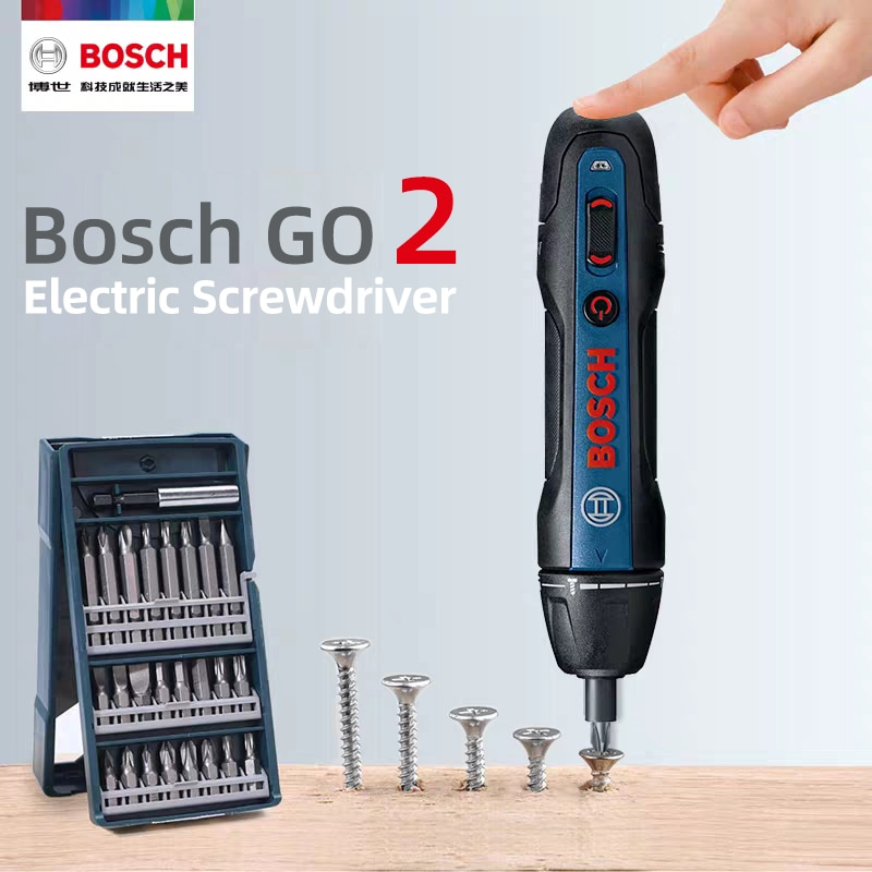 Bosch Go2 Electric Screwdriver Rechargeable Automatic Screwdriver Hand Drill Bosch Go 2 Multi-functi
