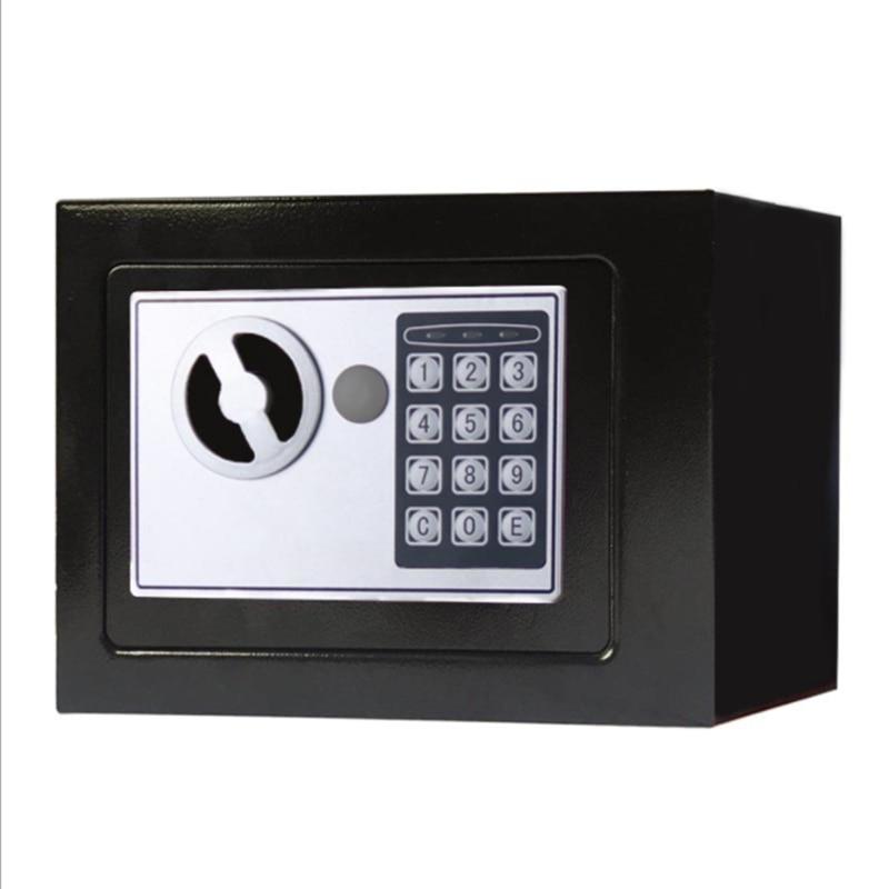 Электронный Сейф Deluxe, цифровой Сейф с клавиатурой, для дома, офиса, отеля, детской аптечки