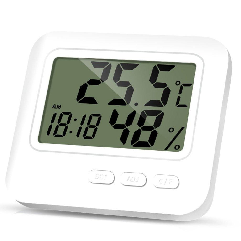 Indoor En Outdoor Digitale Thermometer Hygrometer Lcd Display Precisie Wekker Functie Thermometer Hygrometer
