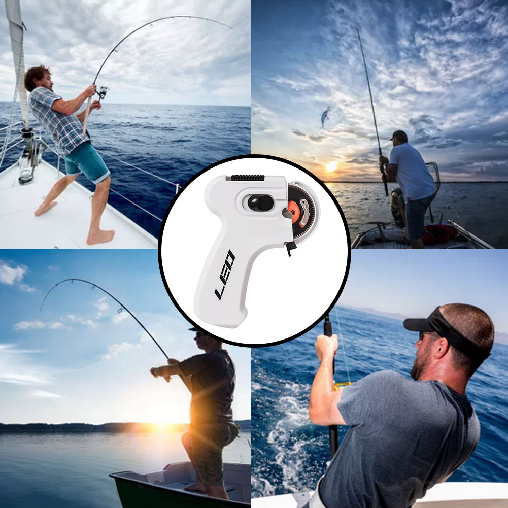 Electric Automatic Hook Device Multifunctional Hooking Device Fishing Accessories Fishing Line Winder Portable Automatic Hook enlarge