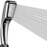 LASO     pommeau de douche haute pression  pluie  economie deau  filtre  buse de pulverisation  ABS chrome  douchette a main  accessoire de salle de bains