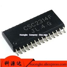 10PCS/LOT PT2314 CSC2314F PT2314E PT2314A SOP-28  Stereo Audio Processor for Home/TV Audio