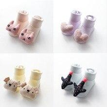 Baby socks rubber anti slip floor cartoon kids  Socks Warm Newborn Cotton Boys Girls Cute Toddler Socks Non-slip Floor Socks