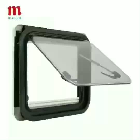 MAYGOOD SX-R70 900X500mm أحدث تحديث نمط RV نافذة جانبية مع ECE لكارفان و rv و تخييم ومقطورة